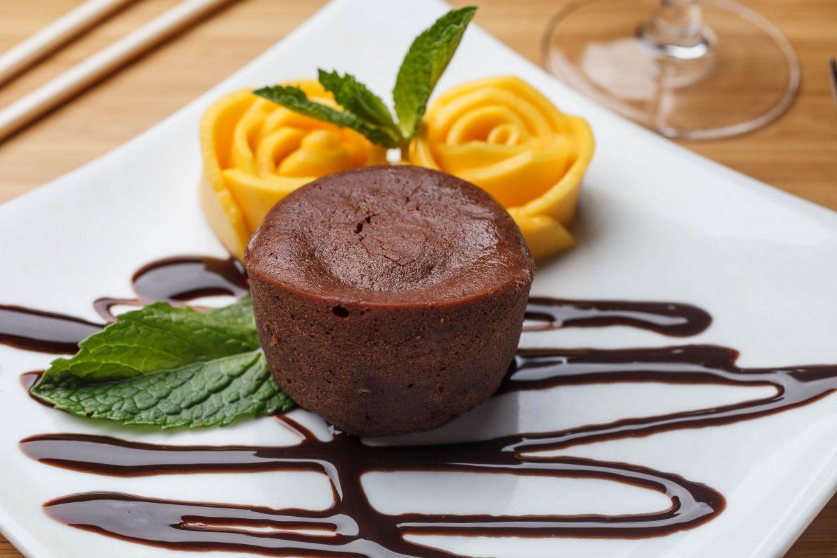 Chocolate Lava Cake - Sukhothai New Orleans